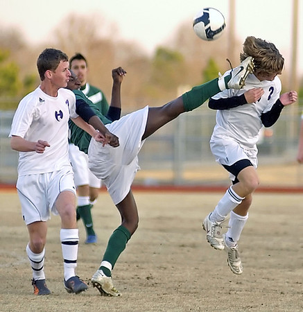Joe Livingston > Ouch!! Lithia Springs High School Lions player gets a